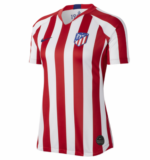 Atletico Madrid Home Soccer Jersey Women's 2019/20