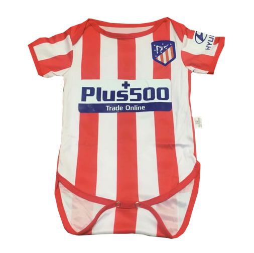 Atletico Madrid Home Soccer Jersey Suit Infant 2019/20