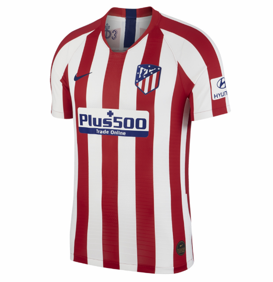 Atletico Madrid Home Soccer Jersey Player Version 2019/20