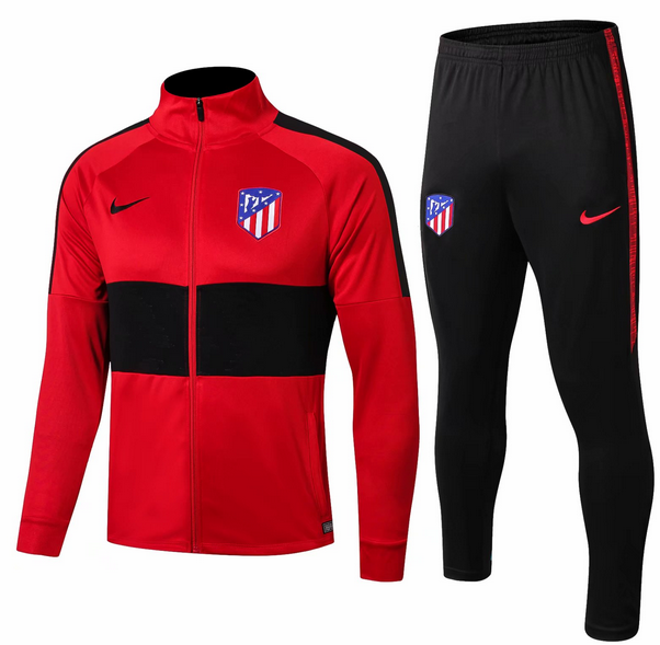 Atletico Madrid Training Jacket Suits Red Black 2019/20