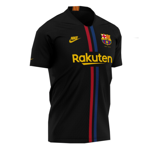 Barcelona 3rd Away 120 Years Soccer Jersey 2019/20