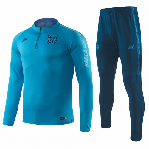 Barcelona Training Top Suits Light Blue 2019/20