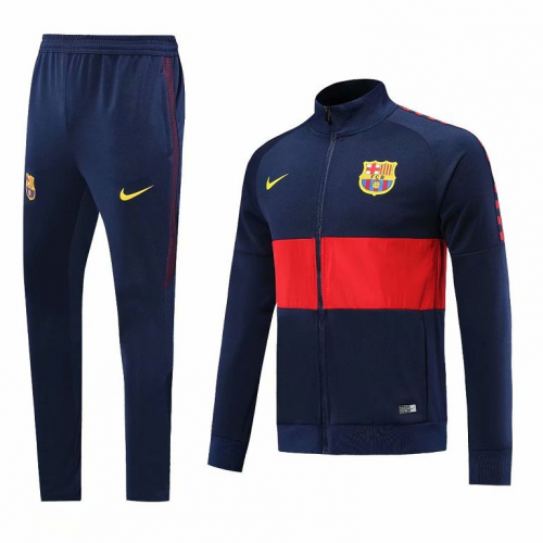Barcelona Training Jacket Suits Navy 2019/20