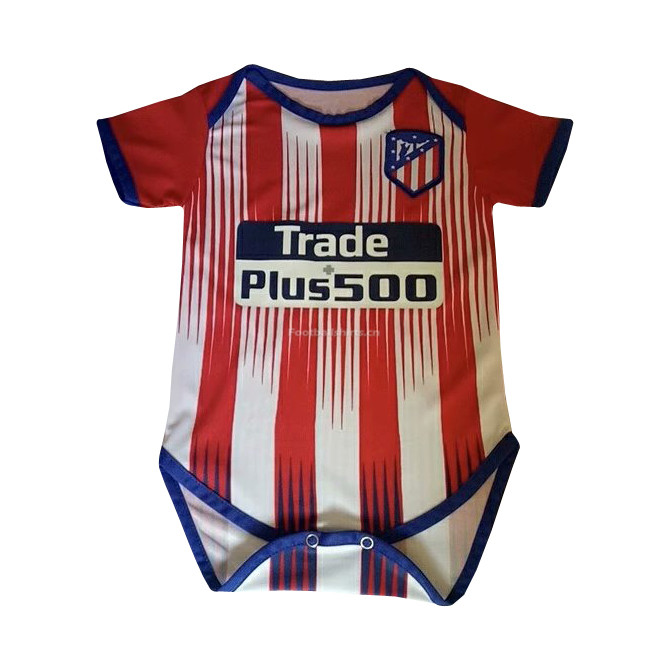 Atletico Madrid Home Infant Soccer Jersey Suit 2018/19