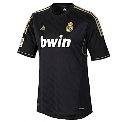 Retro Real Madrid Away Soccer Jersey 11/12