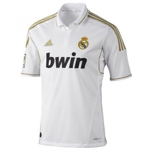 Retro Real Madrid Home Soccer Jersey 11/12