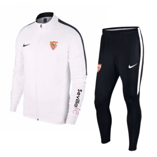 Sevilla Training Jacket Suits White 2018/19