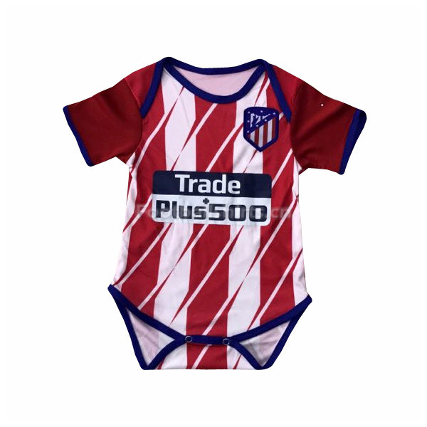 Atletico Madrid Home Infant Soccer Jersey Little Bady 2017/18