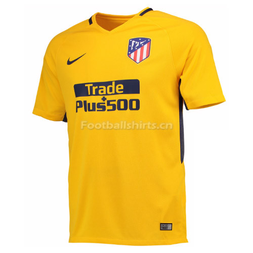 Atletico Madrid Away Soccer Jersey 2017/18