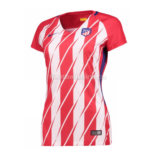 Atletico Madrid Home Women's Soccer Jersey 2017/18