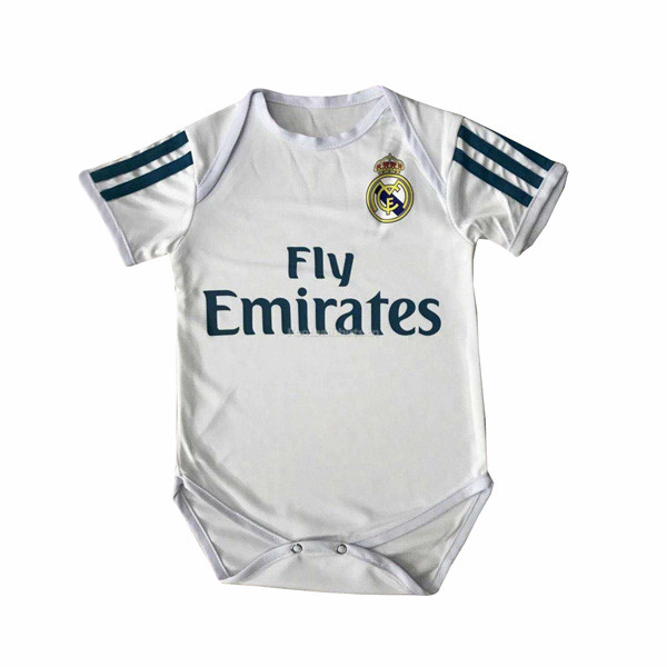 Real Madrid Home Infant Soccer Jersey Little Bady 2017/18