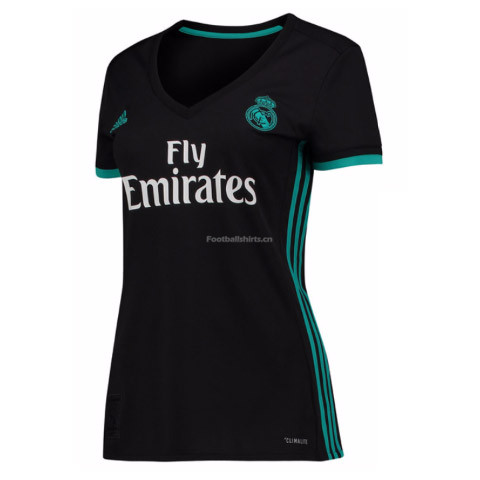 Real Madrid Away Women's Soccer Jersey 2017/18