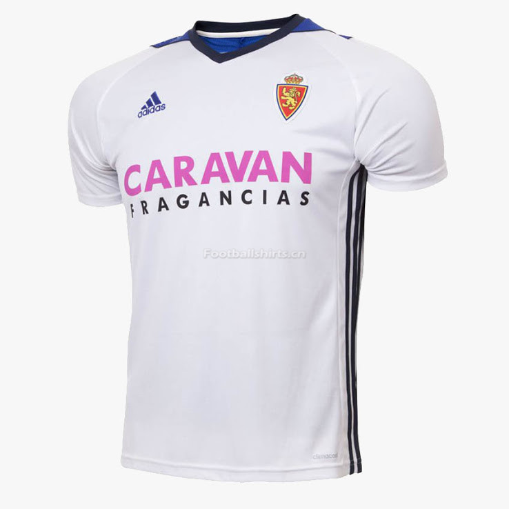 Real Saragoza Away Soccer Jersey 2017/18