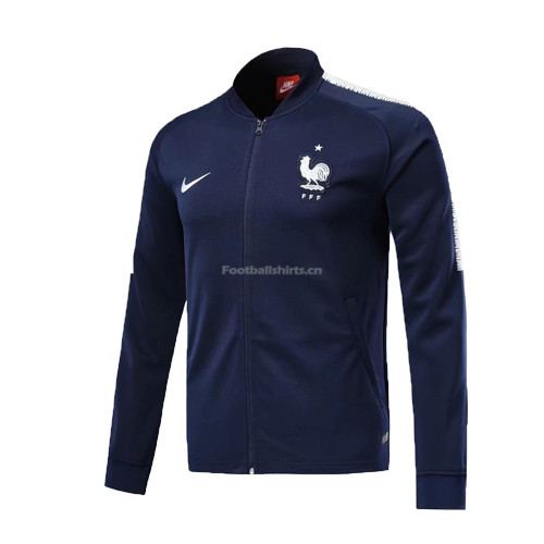 France 2018 World Cup Blue Training Jacket