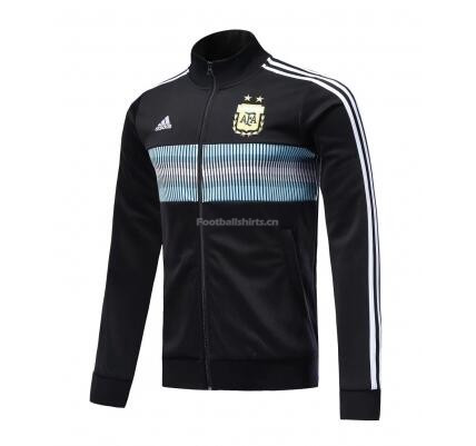 Argentina 2018 Track Jacket Top Black