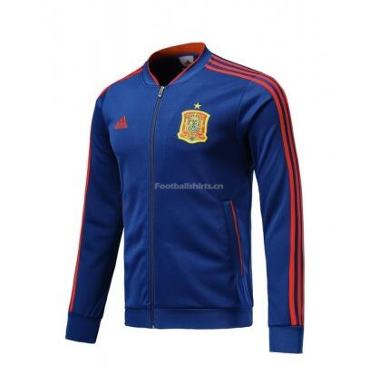 Spain 2018 World Cup Blue Track Jacket