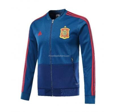 Spain 2018 World Cup Blue Training Jacket