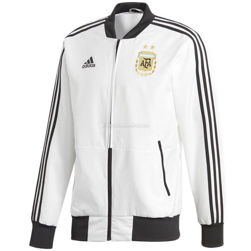 Argentina 2018 Woven Windrunner White Men