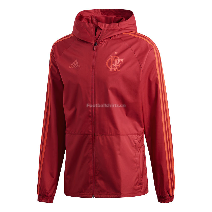 Flamengo Red Woven Windrunner Jacket 2018/19
