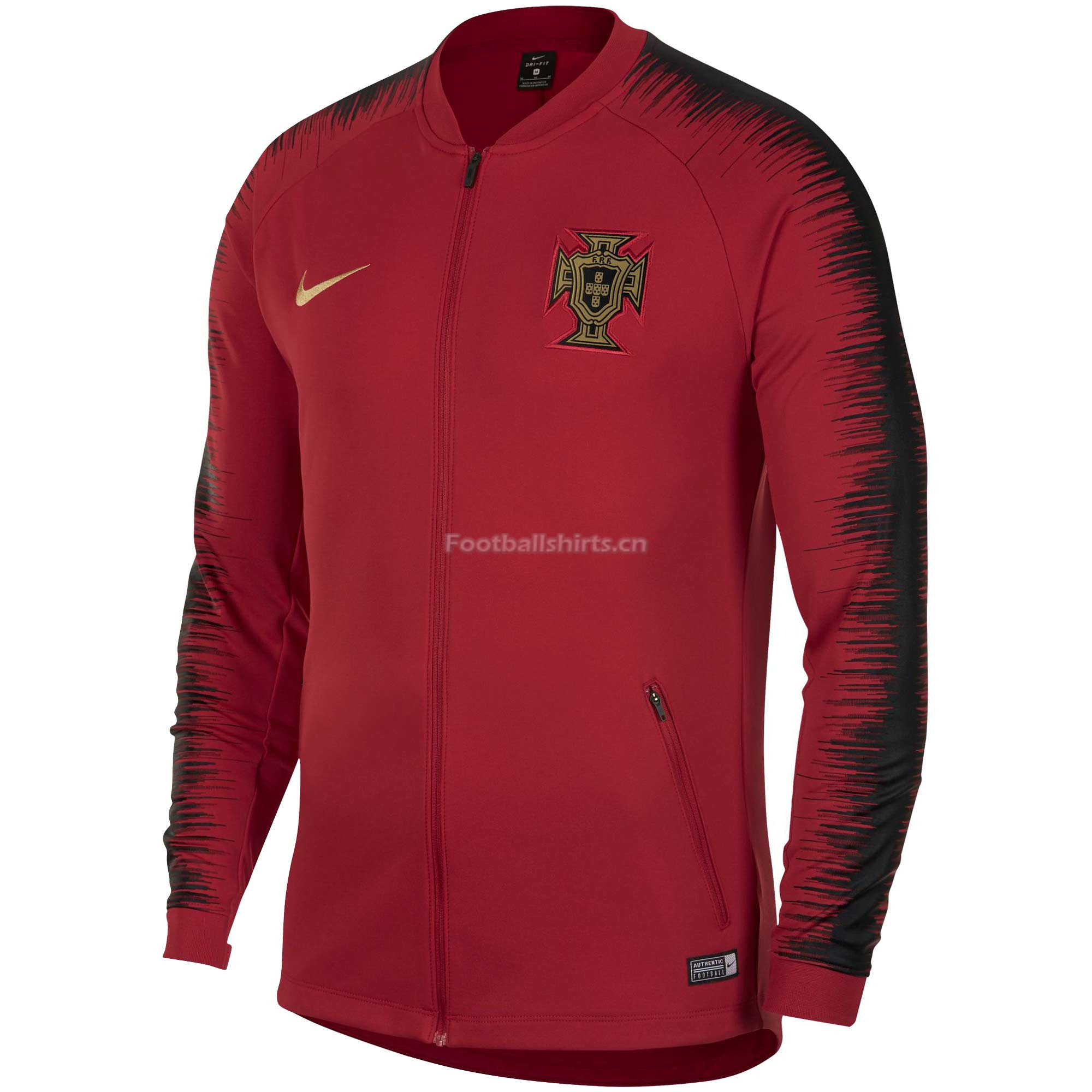 Portugal 2018 World Cup Training Jacket Top Red