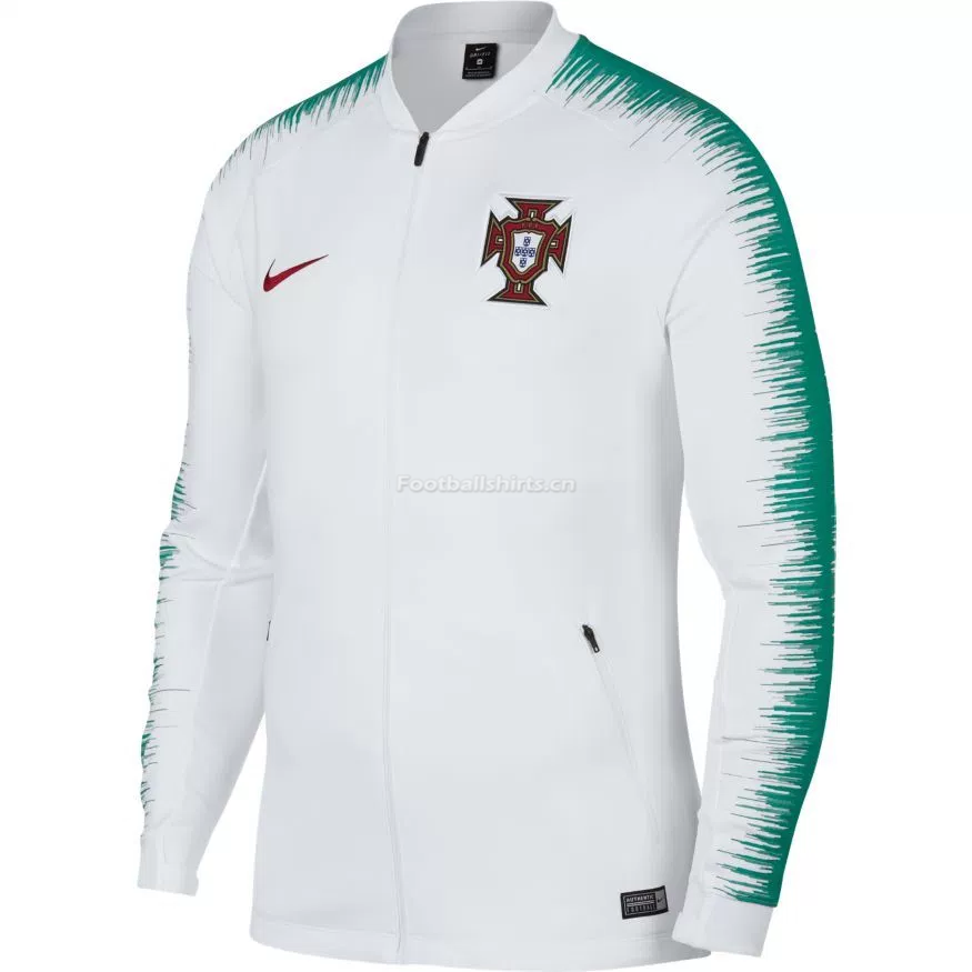 Portugal 2018 World Cup Training Jacket Top White