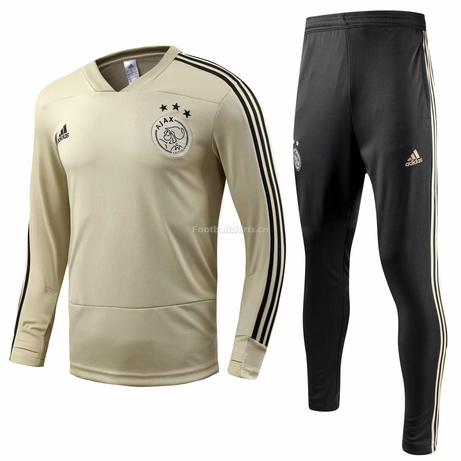 Ajax Apricot Training Suit (Shirt+Trouser) 2018/19
