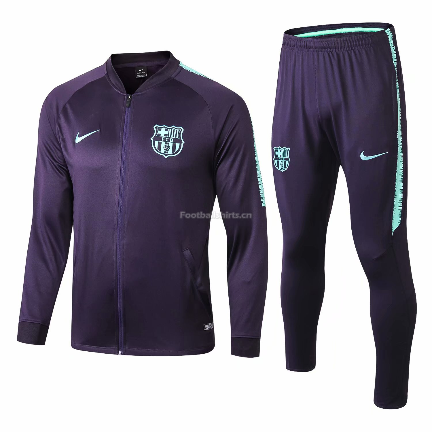 Barcelona Navy Training Suit (Jacket+Trouser) 2018/19