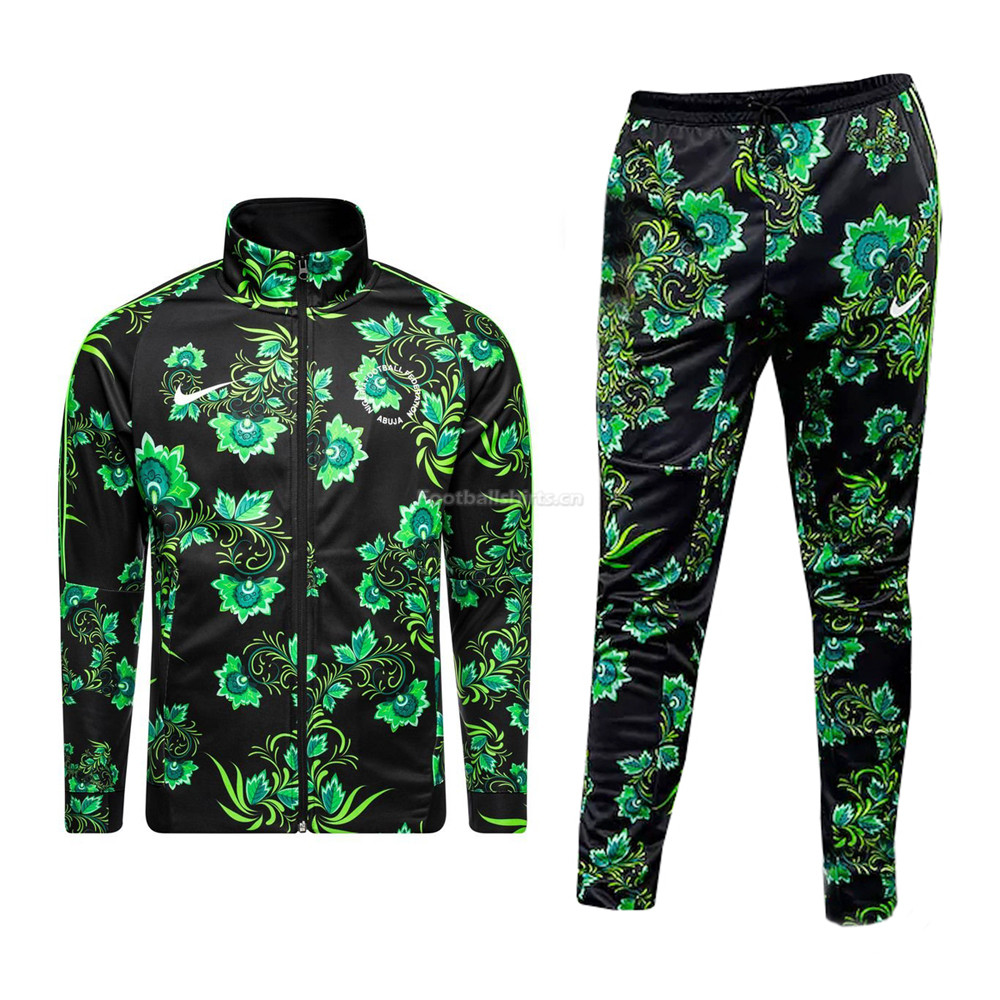 Nigeria 2018 FIFA World Cup Green Training Suit (Jacket + Pants)