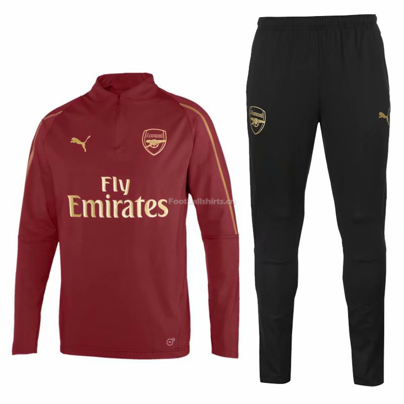 Arsenal Maroon Training Suit (Shirt+Trouser) 2018/19
