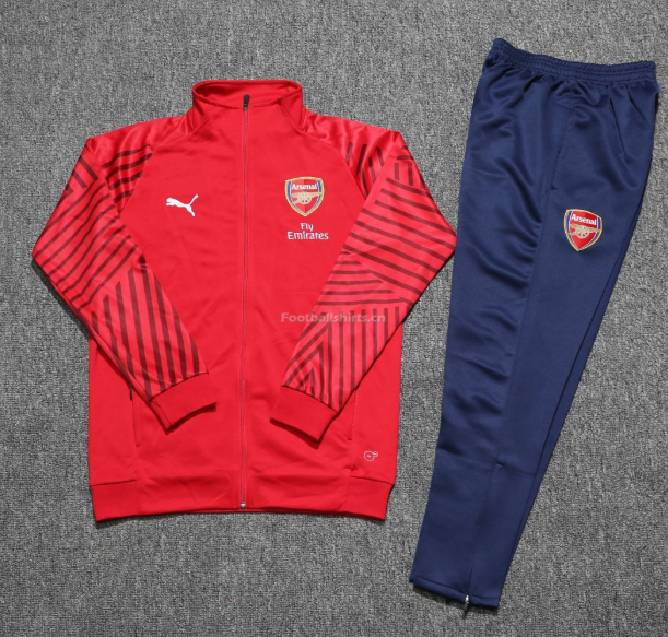 Arsenal Red Training Suit (Jacket+Trouser) 2018/19