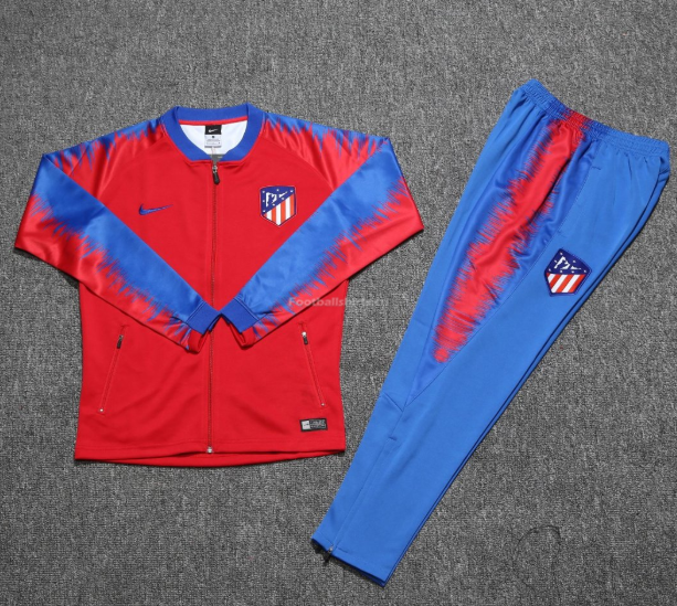 Atletico Madrid Red Training Suit (Jacket+Trouser) 2018/19