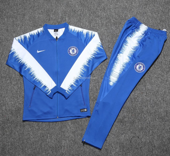 Chelsea Blue Training Suit (Jacket+Trouser) 2018/19