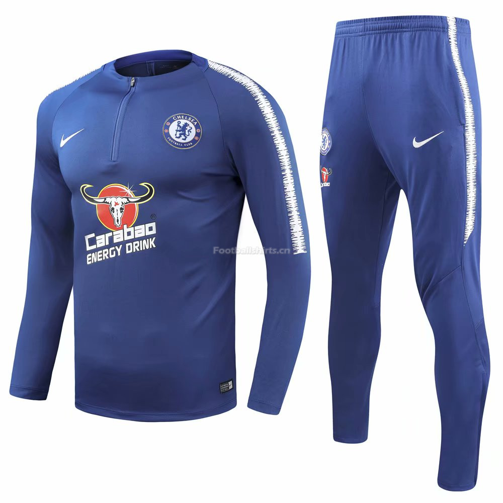 Chelsea Blue Training Suit (Shirt+Trouser) 2018/19
