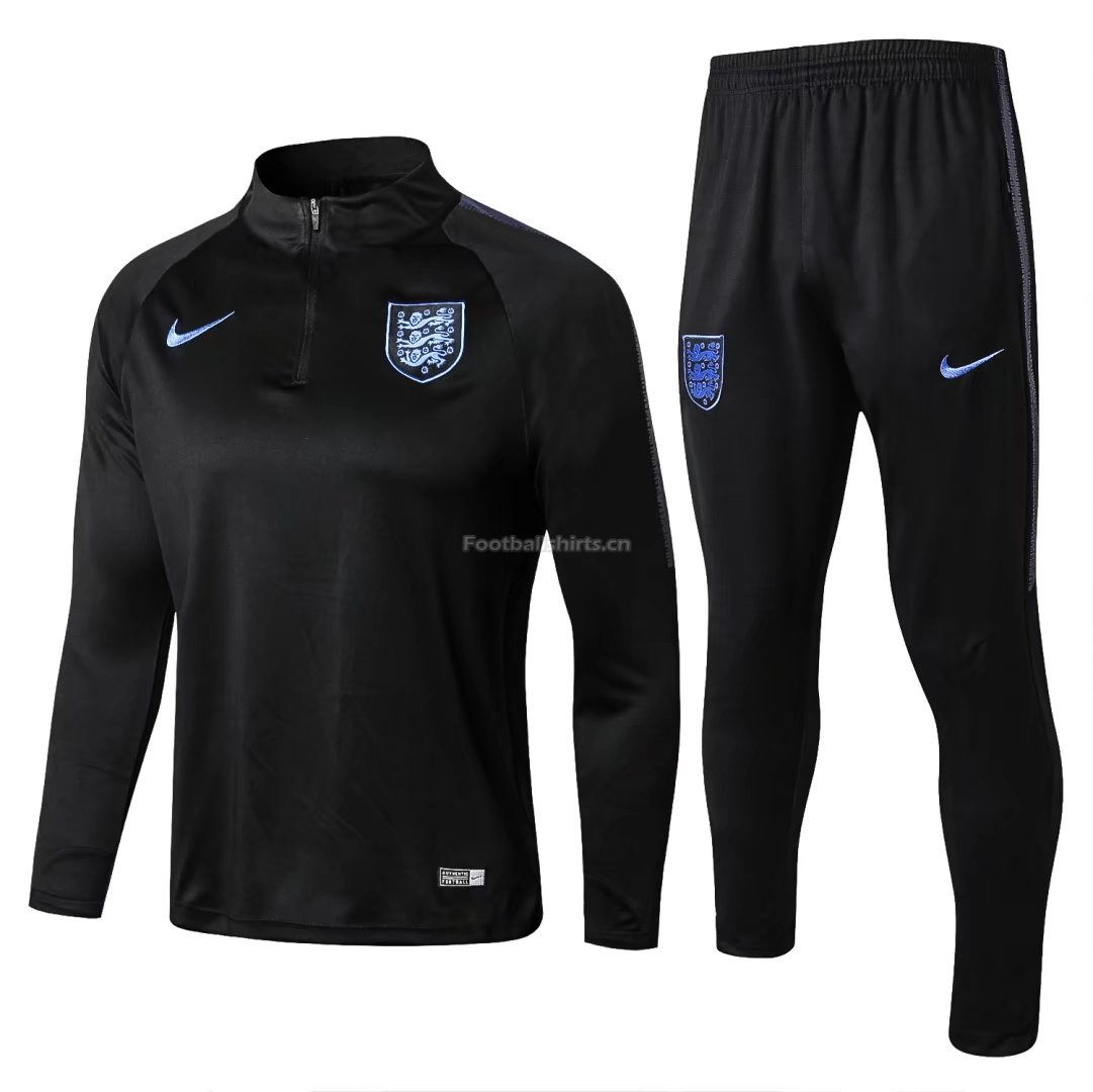 England FIFA World Cup 2018 Black Training Suit