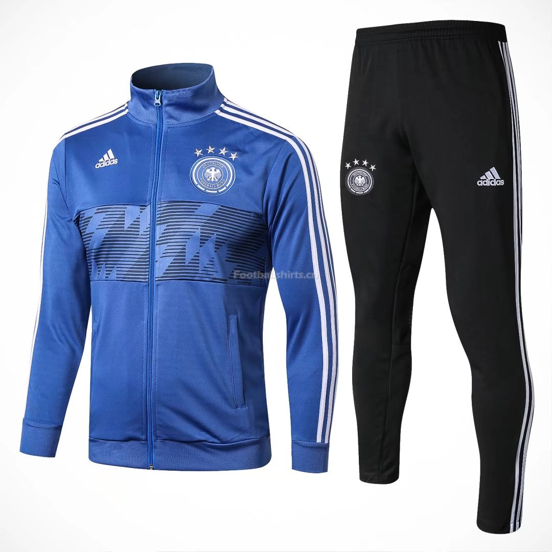 Germany FIFA World Cup 2018 Blue Training Suit Jacket + Pants