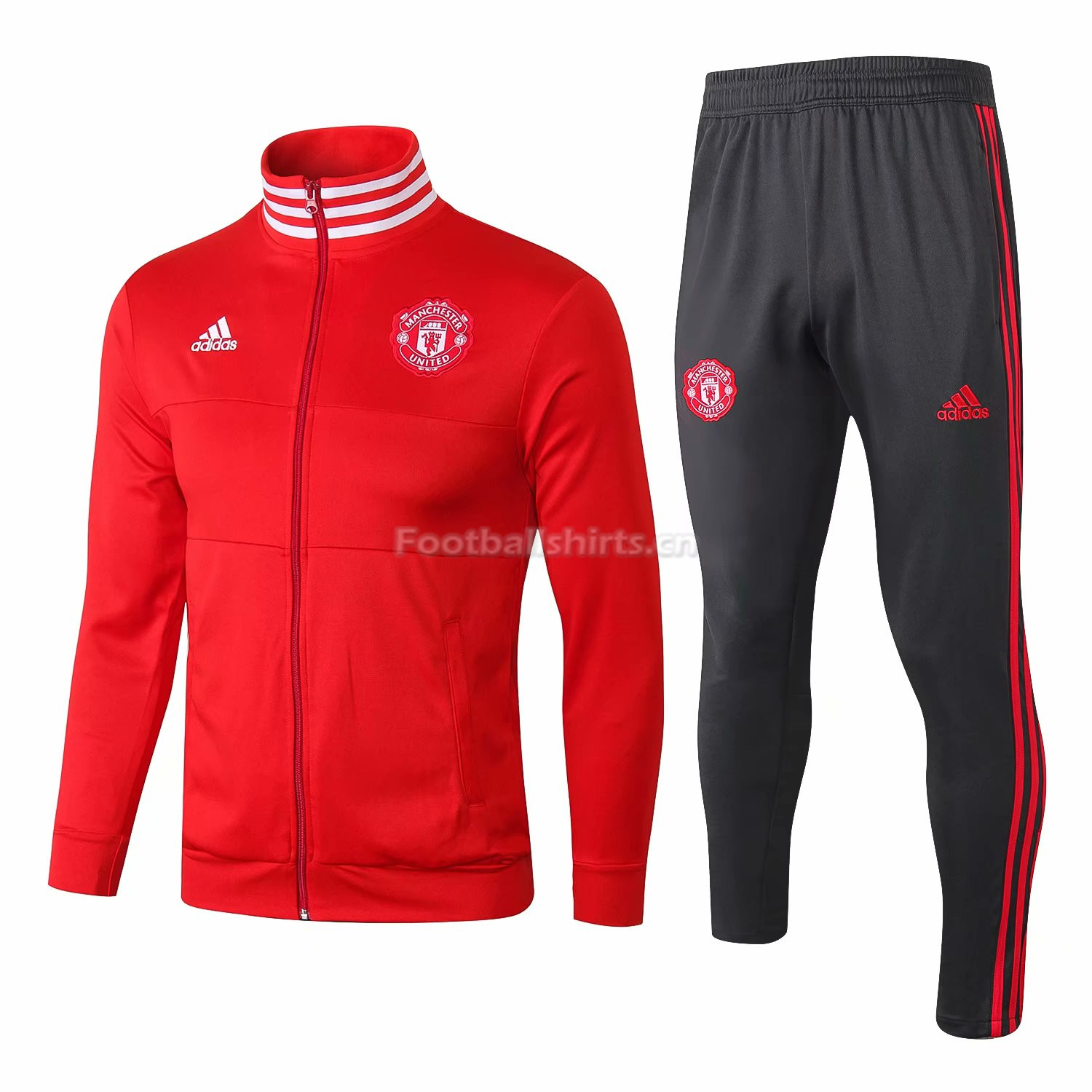 Manchester United Red Training Suit (Jacket+Trouser) 2018/19