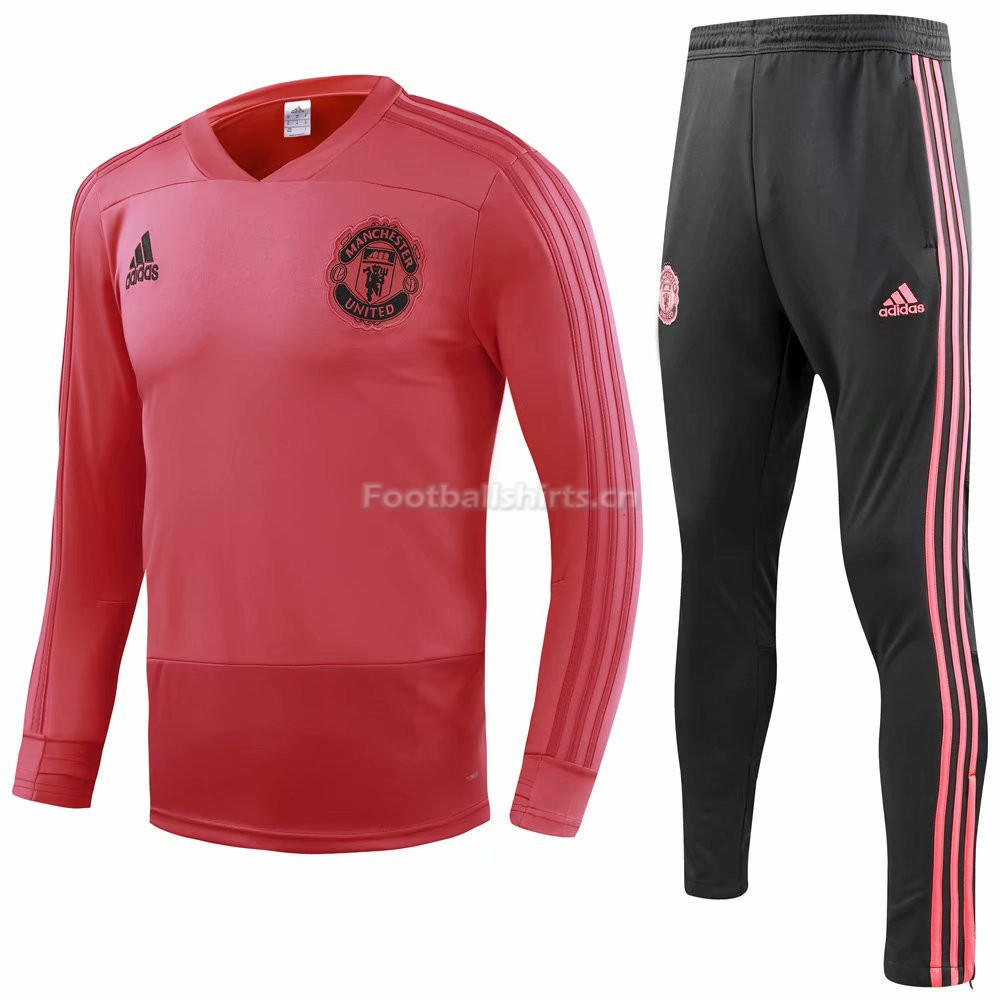 Manchester United Red Training Suit (Shirt+Trouser) 2018/19