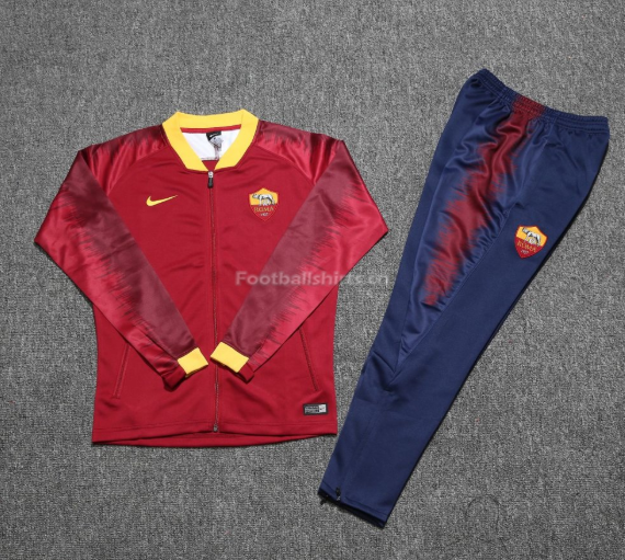 Roma Maroon Training Suit (Jacket+Trouser) 2018/19
