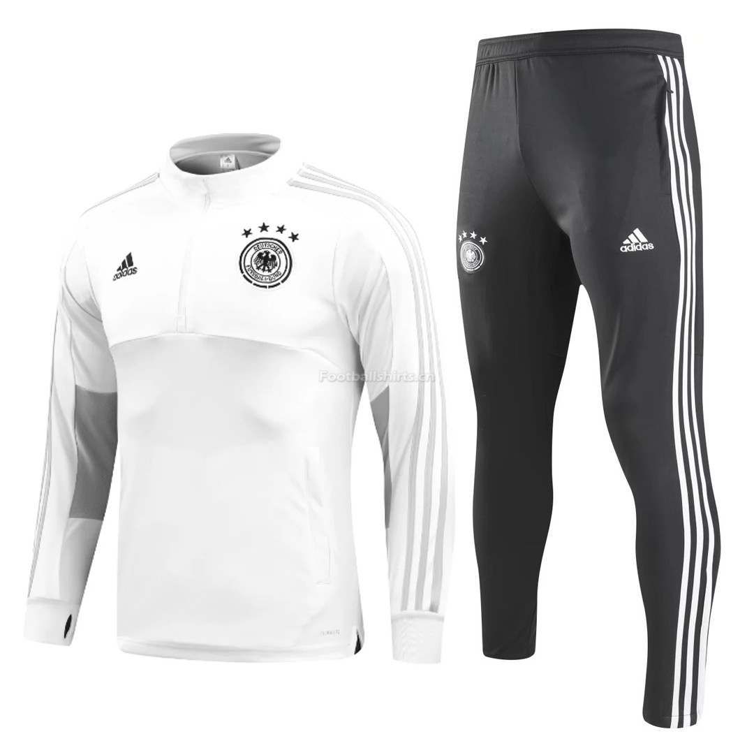 Germany 2018 FIFA World Cup White Training Suit (Shirt+Trouser)