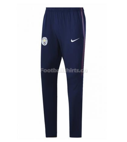 Manchester City 2017-18 Training Pants Blue