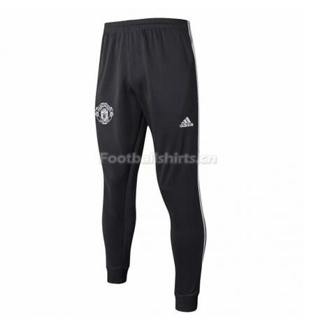 Manchester United Black Training Pants (Trousers) 2017/18