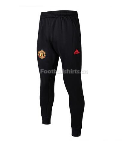 Manchester United Black Training Pants (Trousers) 2018/19