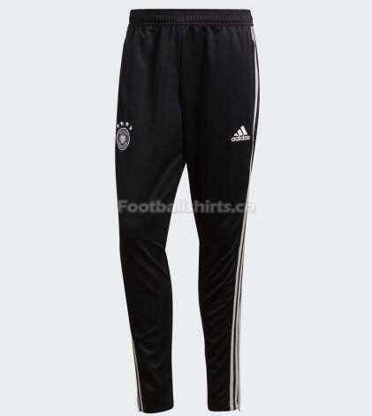 Germany World Cup 2018 track Sports Pants Black white Stripe