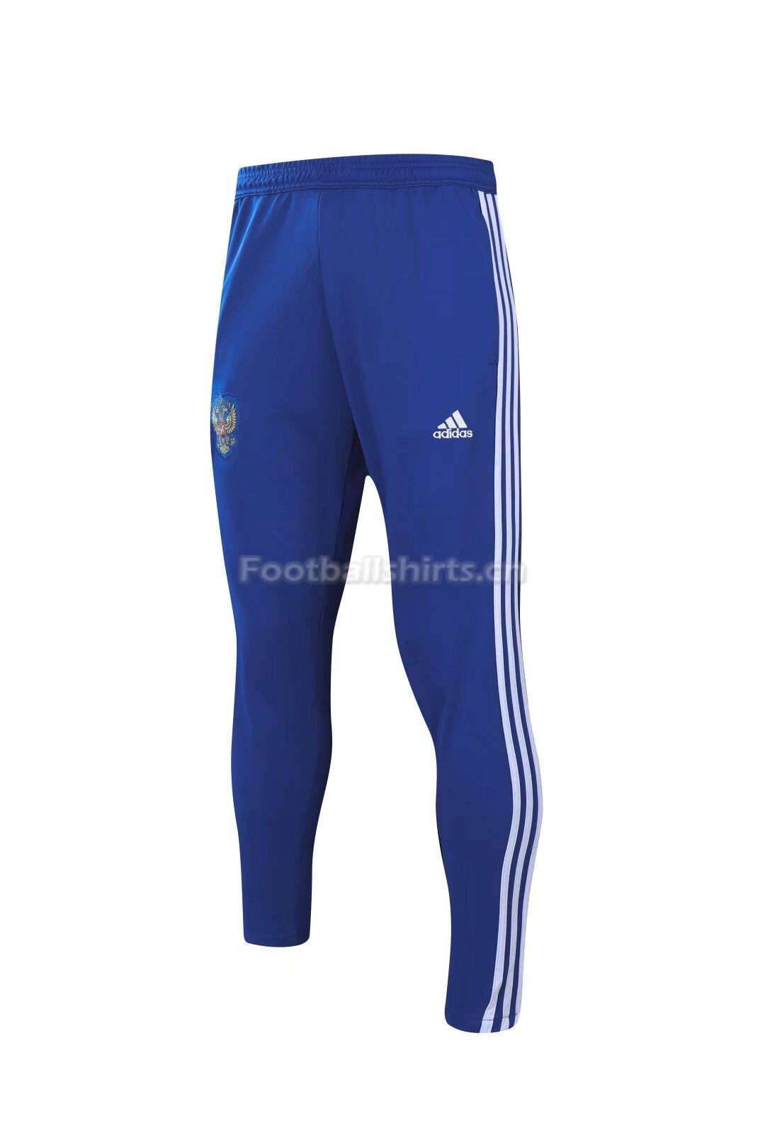 Russia World Cup 2018 Blue Training Pants White Stripe