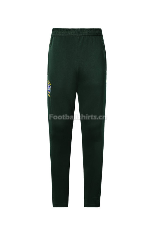 Brazil World Cup 2018 Green Training Pants