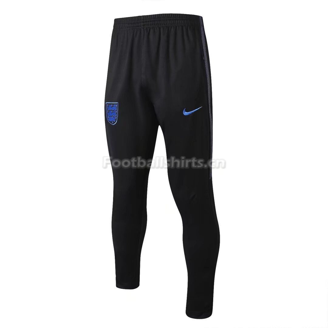 England 2018 World Cup Black Training Pants