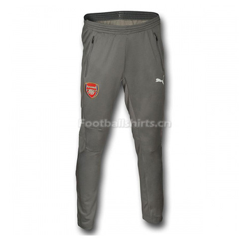 Arsenal 2016/17 Grey Training Pants (Trousers)