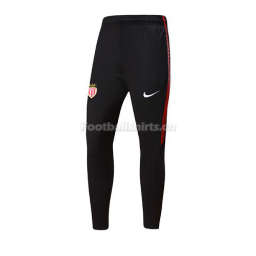AS Monaco FC Black&Red Training Pants (Trousers) 2017/18