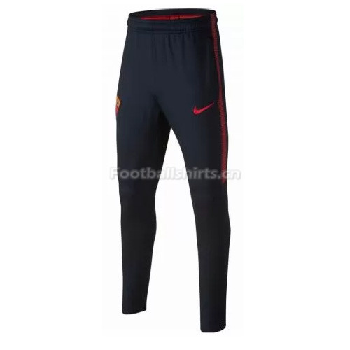 AS Roma Dark Blue Training Pants (Trousers) 2017/18