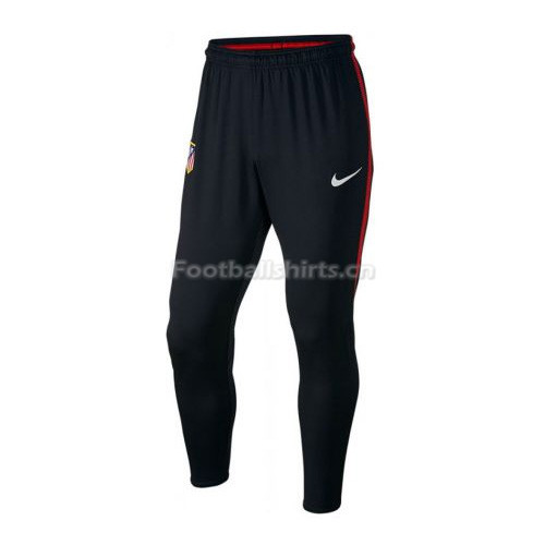 Atletico Madrid Black&Red Training Pants (Trousers) 2017/18